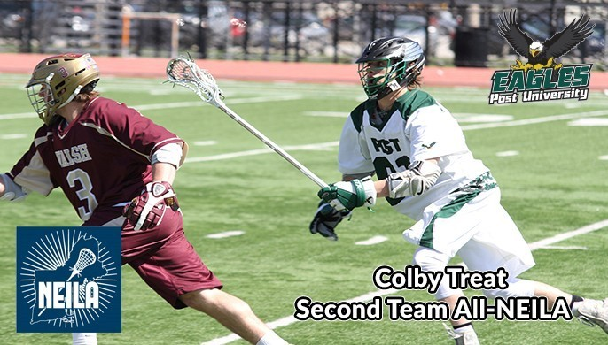 Colby Treat Named Second Team All-NEILA - Post University